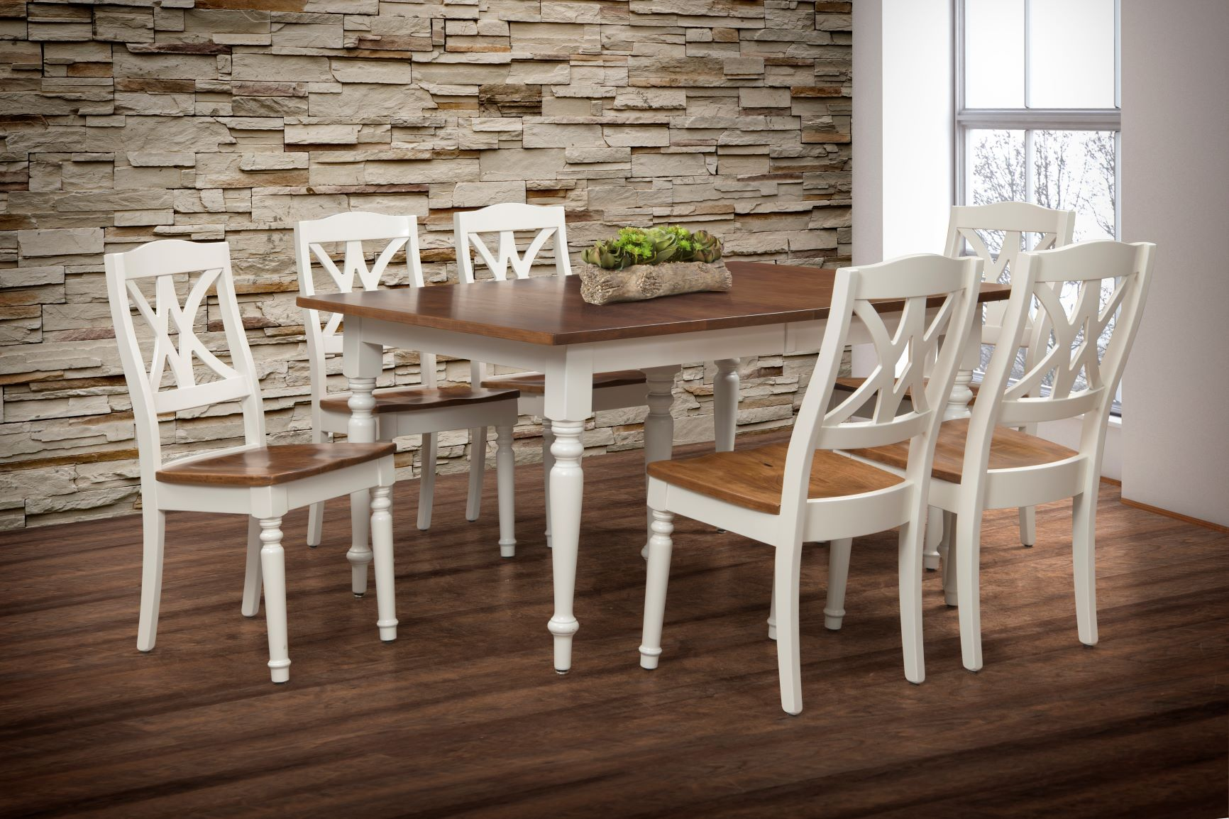 Craftsman dining room table and chairs
