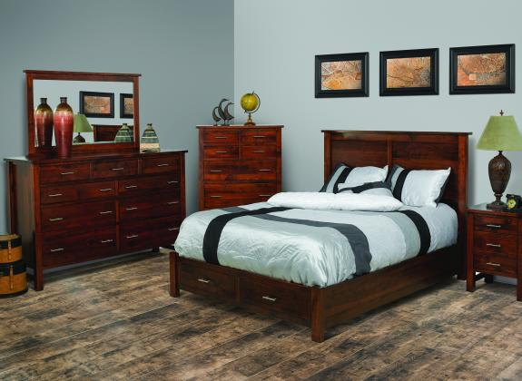 cabin creek bedroom set