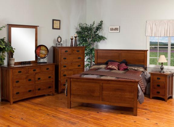 Classic Mission Bedroom