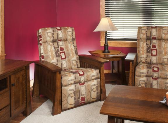 Craftsman Mission Living Room Collection