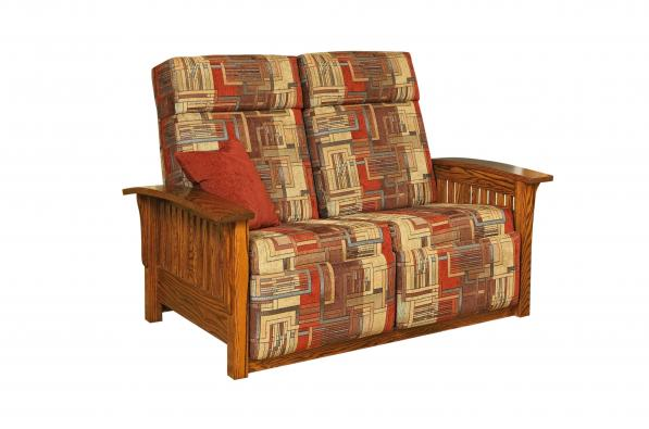 Mission Love Seat Recliner Kings Acres