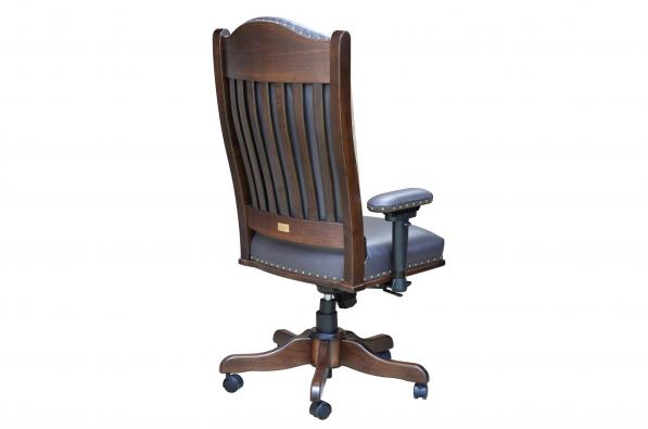 Desk Chair with Adjustable Arms Back View