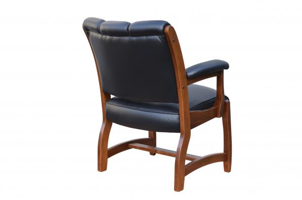 Edelweiss Client Arm Chair Back View