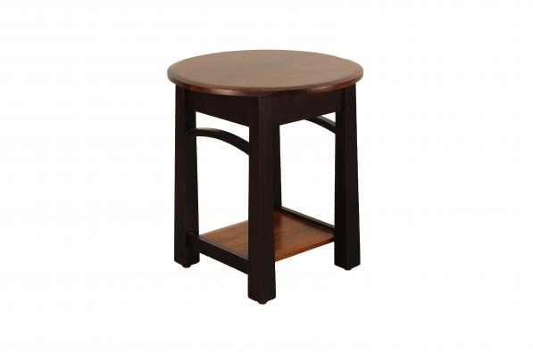 Madison Bow Round End Table