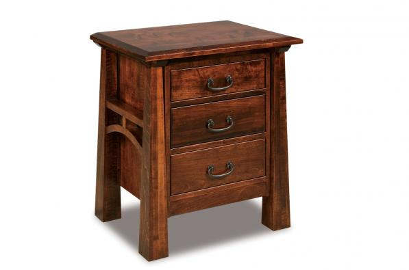 Artesa 3 Drawer Nightstand