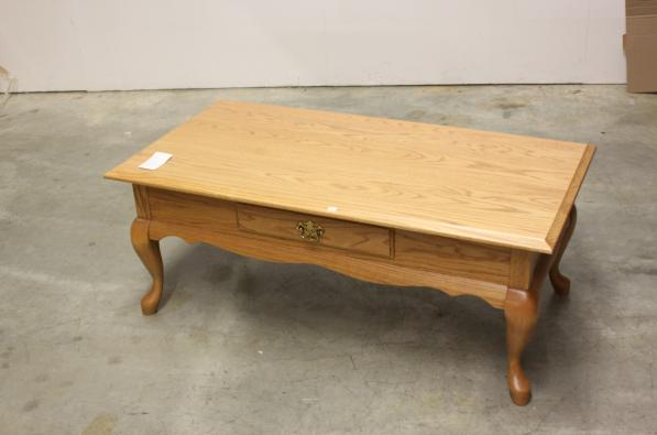 Queen Anne Rectangle Coffee Table
