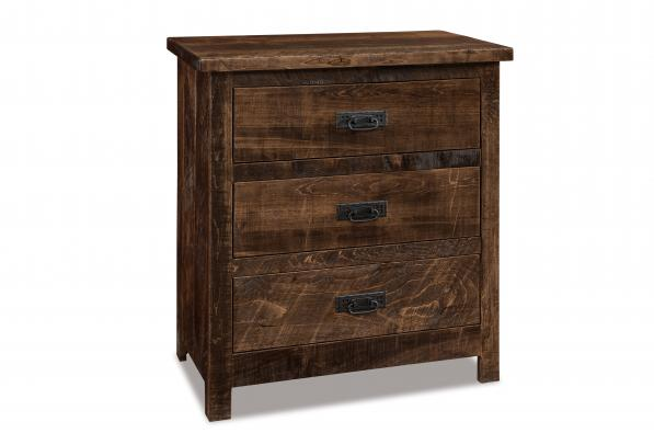 Dumont 3 Drawer Nightstand