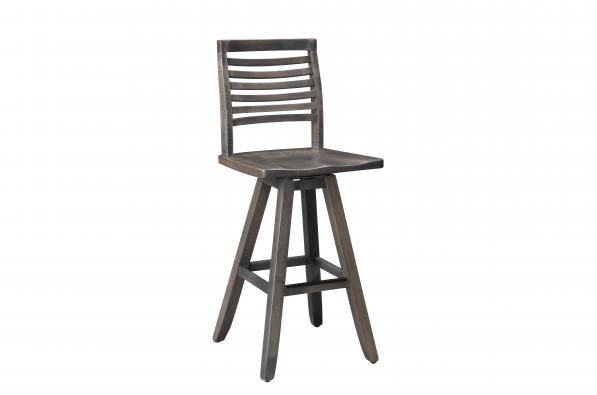 "Blue Ridge Mountain 30"" Swivel Barstool"