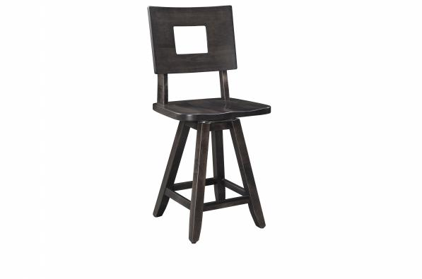 "Brooke Mountain 24""  Swivel Counter Chair"