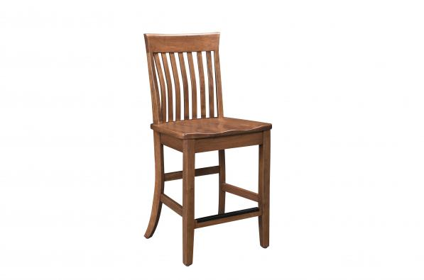 "Teton Mountain 24"" Stationary Counter Chair"