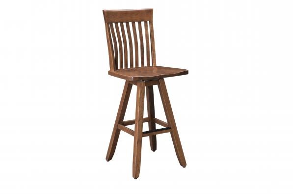 "Teton Mountain 30"" Memory Swivel Barstool"