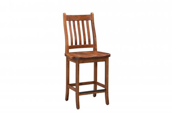 "White Mountain 24"" Stationary Counter Chair"