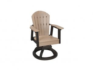 Oceanside Swivel Rocker Dining Chair