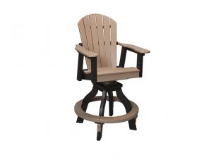 Oceanside Swivel Pub Chair