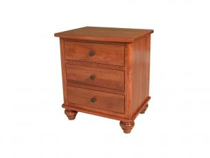 Greenville 3 Drawer Nightstand