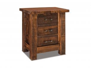 Houston 3 Drawer Nightstand