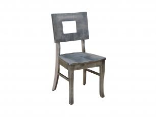 Small Space Living Square Back Side Chair