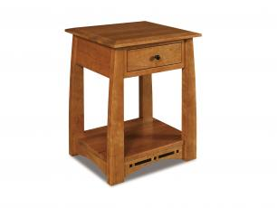 Boulder Creek 1 Drawer Nightstand
