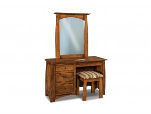 Boulder Creek 4 Drawer Vanity Dresser
