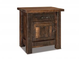 Houston 1 Drawer 1 Door Nightstand