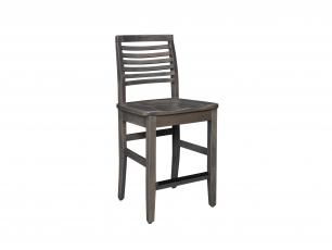 "Blue Ridge Mountain 24"" Stationary Counter Chair"