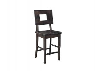 "Brooke Mountain 24"" Stationary Counter Chair"