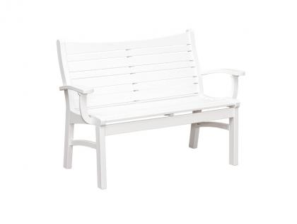 Bayshore Dining Arm Bench
