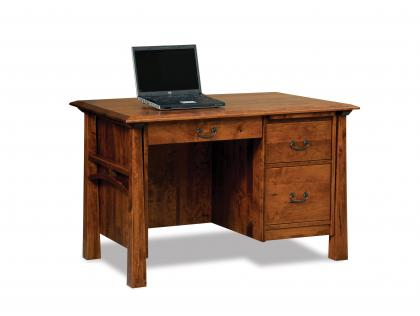 Artesa Single Pedestal Desk Base
