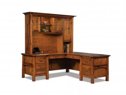 Artesa L Desk with Hutch