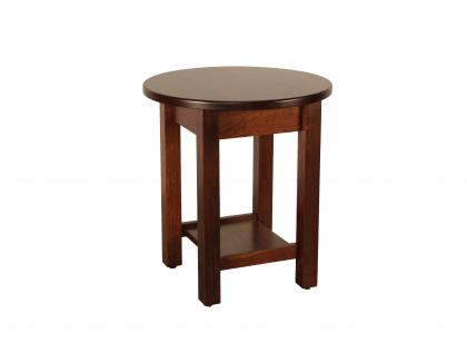 Urbana Round End Table