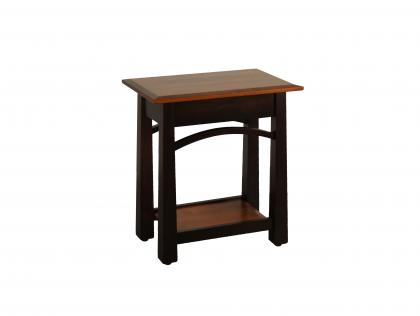 Madison Bow Chairside Table