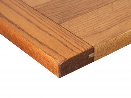 Rough Sawn Top with Breadboard Ends