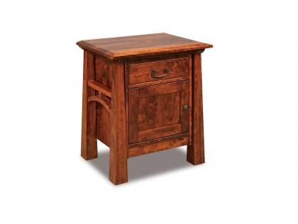 Artesa 1 Drawer, 1 Door Nightstand