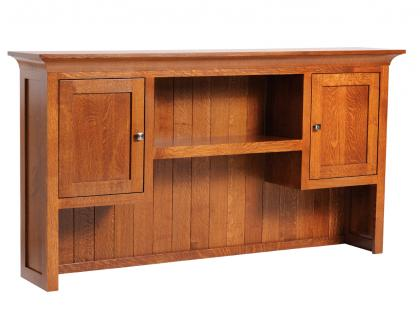 Coventry Mission L-Desk Hutch Top