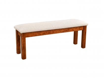 "Andalusia 48"" Fabric Seat Bench"