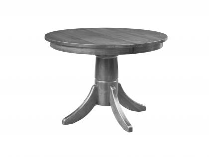 Small Space Living Round Pedestal Table