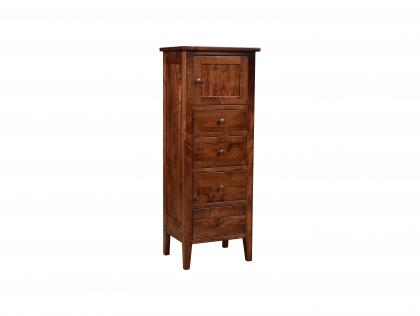 Chelsea 4 Drawer, 1 Door Lingerie Chest