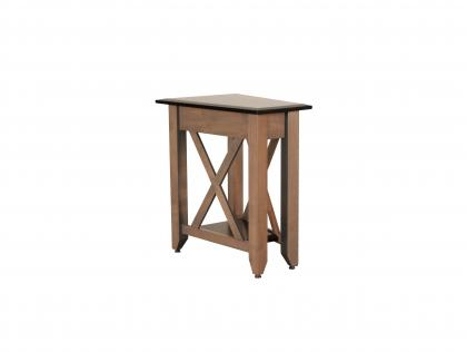 Portland Small Wedge Table