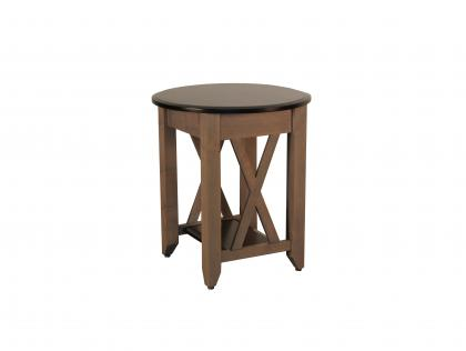 Portland Round End Table