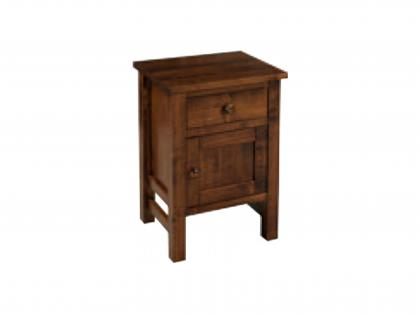 Cabin Creek 1 Drawer, 1 Door Night Stand
