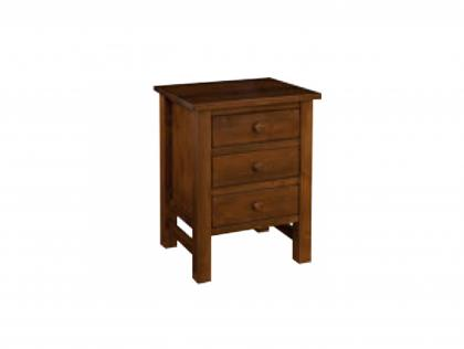 Cabin Creek 3 Drawer Night Stand