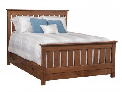 Claremont Slat Bed