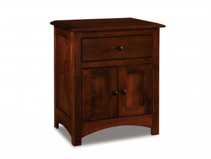 Finland 1 Drawer 2 Door Nightstand