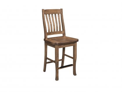 "Elk Mountain 24"" Stationary Counter Chair"